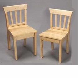 GiftMark 4530 Solid Wood Chair Set