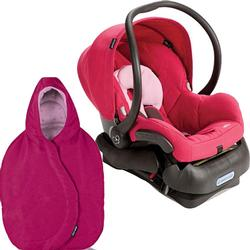 Maxi-Cosi IC099BGW Mico Infant Car Seat with Footmutf - Sweet Cerise