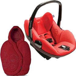 Maxi-Cosi IC090BIY Prezi Infant Car Seat in Envious Red with Intense Red Footmuff