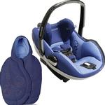 Maxi-Cosi IC090BIV Prezi Infant Car Seat -in Reliant Blue with Lapis Blue Footmuff