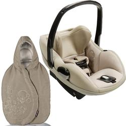 Maxi-Cosi IC090BIM Prezi Infant Car Seat in Delightfully Natural with Walnut Brown Footmuff