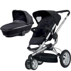 Quinny CV155RKB Buzz 3 Pram Set Bassinet - Rocking Black