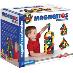 Guidecraft G8301 Magneatos Better Builders 60 Piece Set