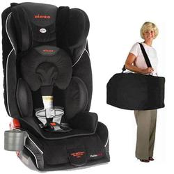 Diono Radian GTX Car Seat with Free Carrying Case - Midnight