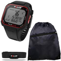 Polar 90048174 RC3 GPS Sports Heart Rate Monitor Watch with Cinch Bag