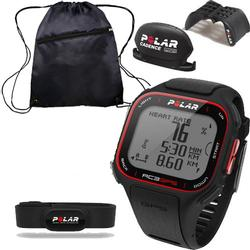 Polar 90048179  RC3 GPS Sports Heart Rate Monitor - Bike with Cinch Bag