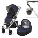 UPPAbaby 0112-TAY Taylor VISTA Stroller With Cup holder - Indigo