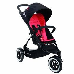 Phil & Teds DOT_V1_11_200_USA DOT buggy Stroller with Diaper Bag  - Chili