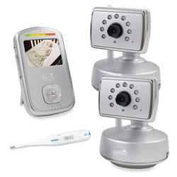 Summer Infant 28460, Best View Choice Digital Color Video Monitor with 2 cameras & Thermometer