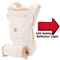 Ergo Baby BC109NL Designer Collection Baby Carrier - Winter Edition with LED Safety Reflector Light