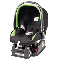 Peg Perego Primo Viaggio sip 30/30 Car Seat - Nero Energy - Lime Green Piping