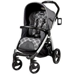 Peg Perego IPBO28US34UT53PG53 Book Stroller - Pois Grey / Charcoal Grey Dots