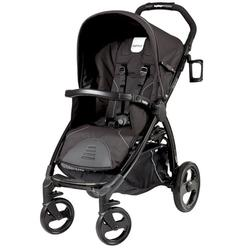 Peg Perego IPBO28US62RO01 Book Stroller - Nero Reflect / Black with reflect piping