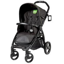 Peg Perego IPBO28US62RO01DX34 Book Stroller - Nero Energy-Black with lime green piping