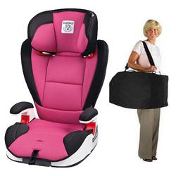 Peg Perego VIAGGIO HBB 120 Car Seat in Fucsia - Hot Pink with Carrying Case
