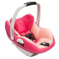 Maxi-Cosi IC158BIW Prezi Infant Car Seat White Collection - Passionate Pink