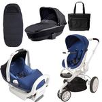 Quinny CV078BXQ Moodd Prezi/White Complete Collection in Blue Defiance