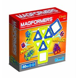 MagneticCity 63068, Magformers 30 Pc Magnetic Building Set (Colors May Vary)