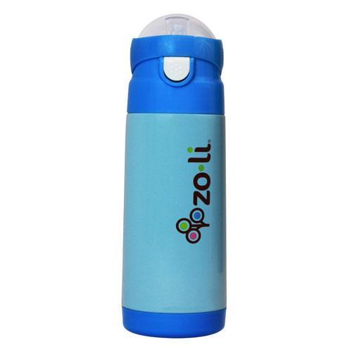 Zoli Zo-li Vacuum insulated straw drink bottle DASH - Blue