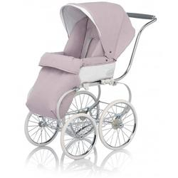 Inglesina CLASS111PES Classica Stroller with Hood and Frame Pesca - Pink/White
