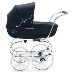 Inglesina CLASS13MAR Classica Pram with Diaper Bag and Raincover - Navy