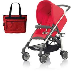 Inglesina AG54E5LBSUS AVIO Stroller with Diaper Bag - Lobster (Red)
