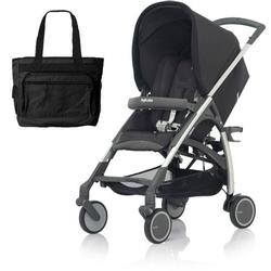 Inglesina AG54E5PRBUS AVIO Stroller with Diaper Bag - Pirate (Black)