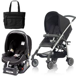 Inglesina AG54E5PRBUS AVIO Stroller Travel System in Pirate (Black)