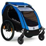 Burley Encore Trailer with 2-Wheel Stroller Kit - Blue