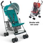 UPPAbaby G-LiTE Stroller with Rain cover - Ella: Jade green