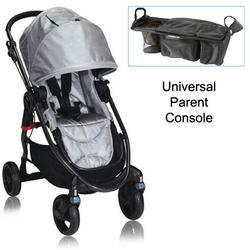 Baby Jogger BJ21312 City Versa Stroller in Silver With Parent Console
