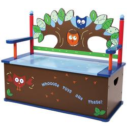 Levels of Discovery LOD20061 Owls Bench Seat w/ Storage