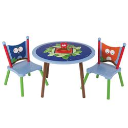 Levels of Discovery LOD20062 Owls Table and 2 Chair Set
