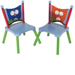 Levels of Discovery LOD20062B Owls 2 Chair Set