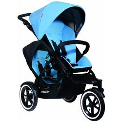 Phil & Teds Navigator Buggy Stroller with Doubles Kit - Sky