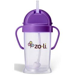 Zo-li BF12PPR001 - BOT 6 oz Straw Sippy Cup -Purple