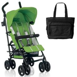 Inglesina Trip Stroller With Diaper bag -  Mela Green