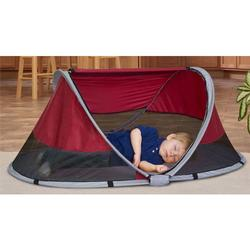 KidCo P3010 PeaPod Portable Travel Bed - Cranberry