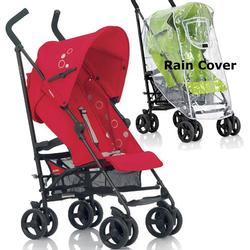 Inglesina Swift Stroller with Rain Cover  -  Tulipano Red
