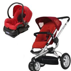 Quinny Buzz 3 Travel System in Red