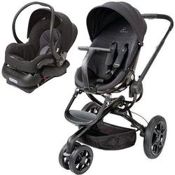 Quinny Moodd Stroller Travel system - Black Devotion