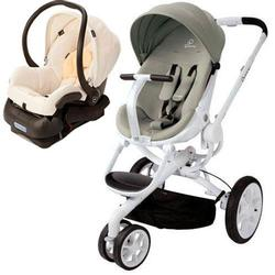 Quinny Moodd Stroller Travel System - Natural Bright