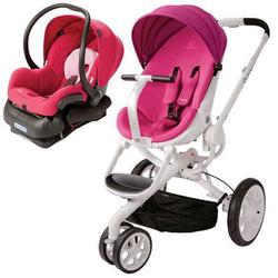 Quinny Moodd Stroller Travel System - Pink Passion