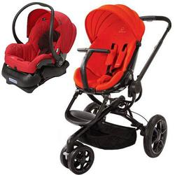 Quinny Moodd Stroller Travel System - Red Envy