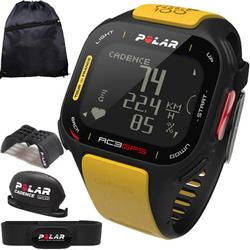 Polar 90047344 RC3 GPS Tour de France Heart Rate Monitor - Bike with Cinch Bag