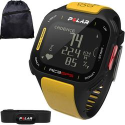 Polar 90047341KT RC3 GPS Tour de France Heart Rate Monitor Watch with Cinch Bag