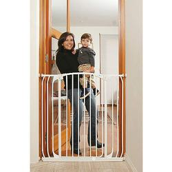 DreamBaby L792W Extra Tall Hallway Security Gate Combo, White