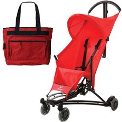 Quinny YEZZ Lightweight Stroller with Diaper Bag  - Red Signal