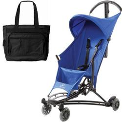 Quinny YEZZ Lightweight Stroller with Diaper Bag  - Blue Track