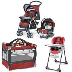 Chicco Element Kit Stroller System, High Chair and Play Yard Combo